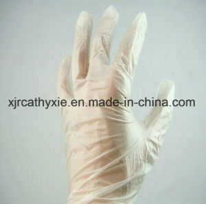 Powdered Free Disposable Medcial Use Vinyl Gloves, PVC Gloves pictures & photos