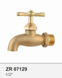 Zr07129 Brass Bibcock Basin Faucet Taps pictures & photos