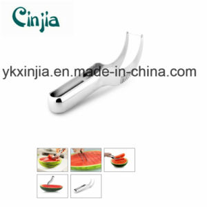 Summer Kitchenware Watermelon Slicer and Server for Xjt065 pictures & photos