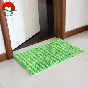 Double Colour High Pile Microfiber Chenille Floor Mat pictures & photos