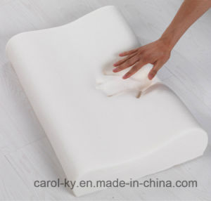 Function Wave B Shape Contour Memory Foam Pillow pictures & photos
