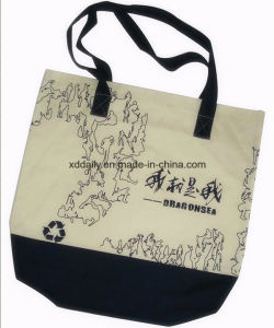 Shopping Canvas Tote Bag with Handle pictures & photos