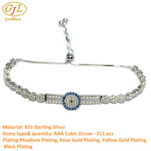 Silver Jewelry Bracelect for Gift with Stone AAA Cirzon (A323) pictures & photos
