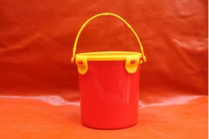 1L Lock Lid PP Small Bucket for Food Fresh Keeping pictures & photos