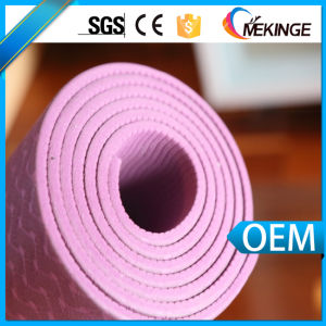 Comfortable Gel Yoga Mat Custom TPE Yoga Mat pictures & photos