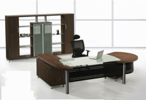 Modern MFC Laminated MDF Wooden Office Table (NS-NW216) pictures & photos