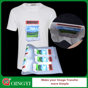 Qingyi OEM Heat Transfer Sticker for Garment pictures & photos