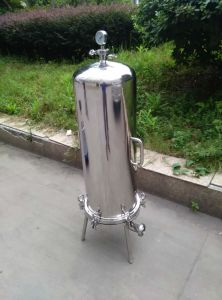 Factory Industrial Stainless Steel Pressure High Flow Sanitary Filter Housing pictures & photos
