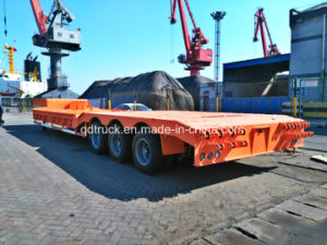 3 Lines 6 Axles 180 Tons Heavy Low Bed Trailer pictures & photos