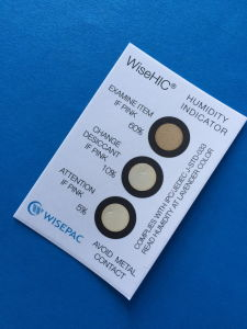 Cobalt Free 5%-10%-60% 3 dots Humidity Indicator Card (WiseHIC) pictures & photos