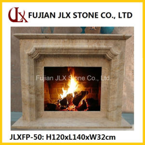 Marble Sandstone Granite Stone Fireplace Mantel pictures & photos