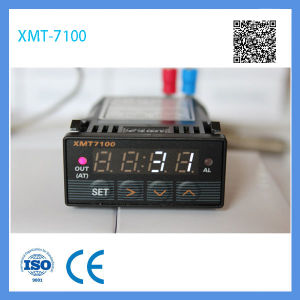 Xmt 7100 Mini Size 48*24mm Red LED Digital Temperature Controller Thermostat with 12V Power Supply pictures & photos