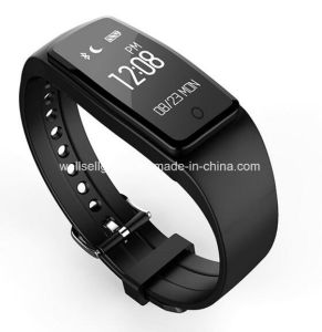 IP67 Waterproof Dynamic Heart Rate Monitoring Sleep Touch Screen Step Bluetooth Wearable Reminder Smart Bracelet for Android for Android Ios pictures & photos