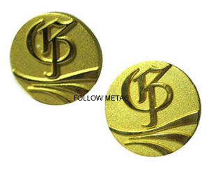Wholesale Souvenir Award Badge with Gold Plated pictures & photos