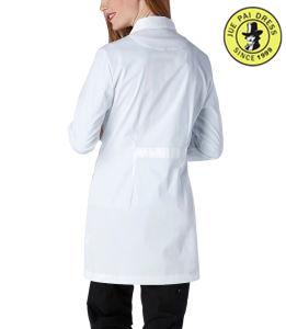 Nurse Uniform Women White Cotton Hospital Uniform Lab Coat pictures & photos