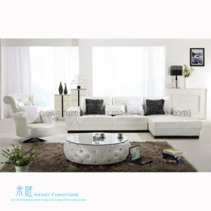 Modern Living Room L-Shape Sofa for Home (HW-657S)