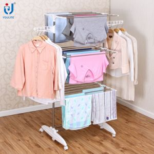 Extendable Stainless Steel Garment Rack pictures & photos