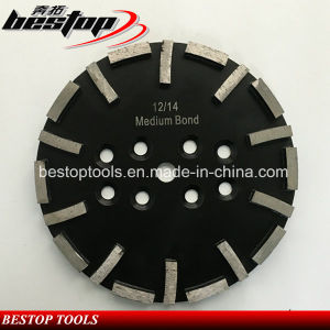 Wet or Dry Grinding Disc with Segments for Concrete pictures & photos