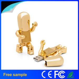 High Quality Metal Robot USB Memory Stick pictures & photos