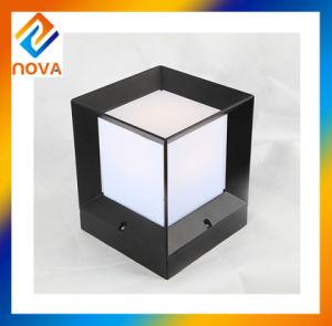 China Manufacturer Aluminum Alloy IP44 Cube Pillar Gate Light pictures & photos
