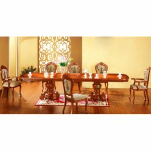 Dining Table with Dining Chair for Home Furniture