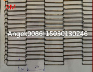 Pizza Conveyor Belts, Metal Flat Flex Wire Mesh Conveyor Belts pictures & photos