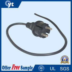 European Standard 220V 2 Pin AC Power Cord Plug pictures & photos
