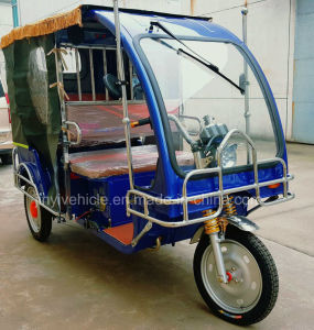 Electric Rickshaw with 120A 5 Battery pictures & photos