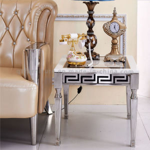Luxury Metal Table Side Table for Middle East pictures & photos