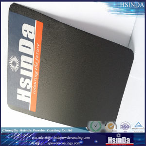Satin Black Ral 9005 Hybrid Epoxy Polyester Paint Powder Coating pictures & photos