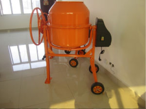Cm-220 Electric Mobile Concrete Mixer with 750W Motor pictures & photos