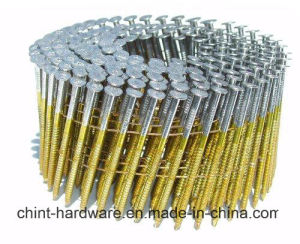 Wire Coil Nails Wire Nail Screw pictures & photos