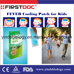 Medical Supply Fever Cooling Gel Patch Cool Patch 5*12cm pictures & photos