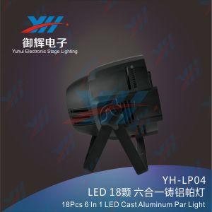 18PCS 18W RGBWA UV LED PAR 6in1 Cast Aluminum PAR Stage Light pictures & photos
