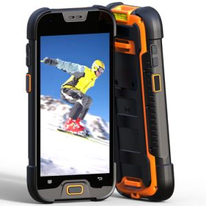 Quad Core 1.5GHz Mt6737A IP68 Rugged Smartphone with NFC, WiFi Seamless Roaming pictures & photos