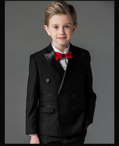 Black Party Suit Kids Wedding Blazer for Boys pictures & photos