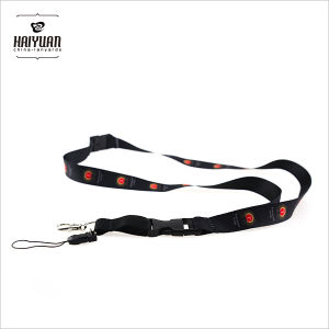 Full Color Heat Transfer Polyester Lanyard with Metal Hook pictures & photos
