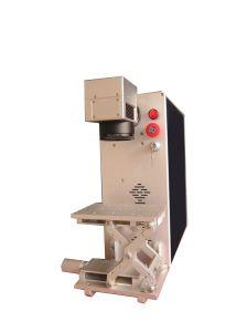 Leadjet 20W Fiber Laser Marking Machine for Metal Logo Printing pictures & photos