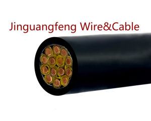 Kvvp PVC Insulated PVC Jacket Copper Wire Braiding Screen Control Cable pictures & photos