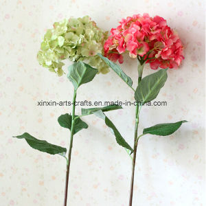 Cheap Hydrangea Real Touch Silk Artificial Decorative Flowers Wedding Flowers pictures & photos