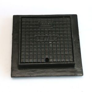 Ductile Iron Resin Casting Manhole Cover with Coating pictures & photos