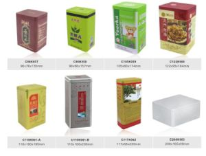 Tin Box of Tea with Export Mould pictures & photos