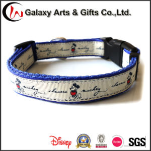 China Pet Supply Disney Pet Products Polyester Dog Collar pictures & photos