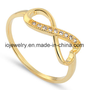 Gold Plated Jewelry Real 925 Silver Rings pictures & photos