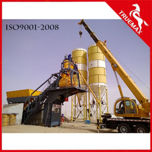 Popular Hotizontal/Twin-Shaft Stationary Concrete Plant/Concrete Mixing Machine 60 pictures & photos