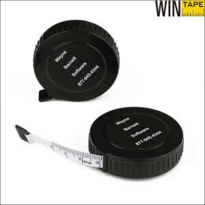 150cm 60inch Logo Plastic Black Fashion Sewing Tailoring Measuring Tape pictures & photos