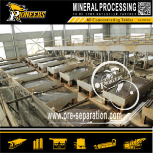 Gravity Chomite Separation Mining Equipment Chrome Ore Shaking Table pictures & photos