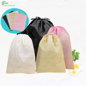 Custom Non Woven Drawstring Bag (KG-PN007) pictures & photos