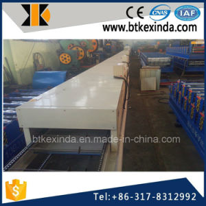 Kxd Color Steel Stone Coated Metal Roof Tile Manufacturing Production Line pictures & photos