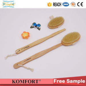 Wooden Bath Wash Bristle Exfoliating Back Scrub Body Brush pictures & photos